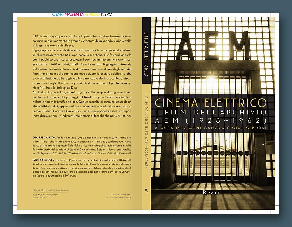 AEM Cinema Elettrico book cover copertina