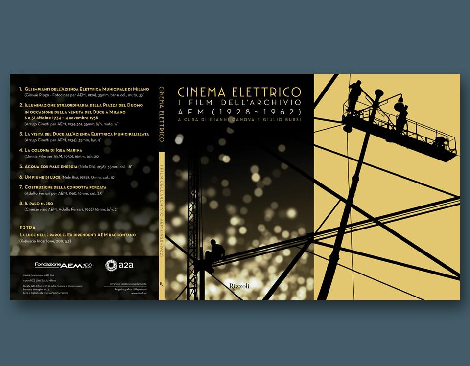 AEM Cinema Elettrico dvd case