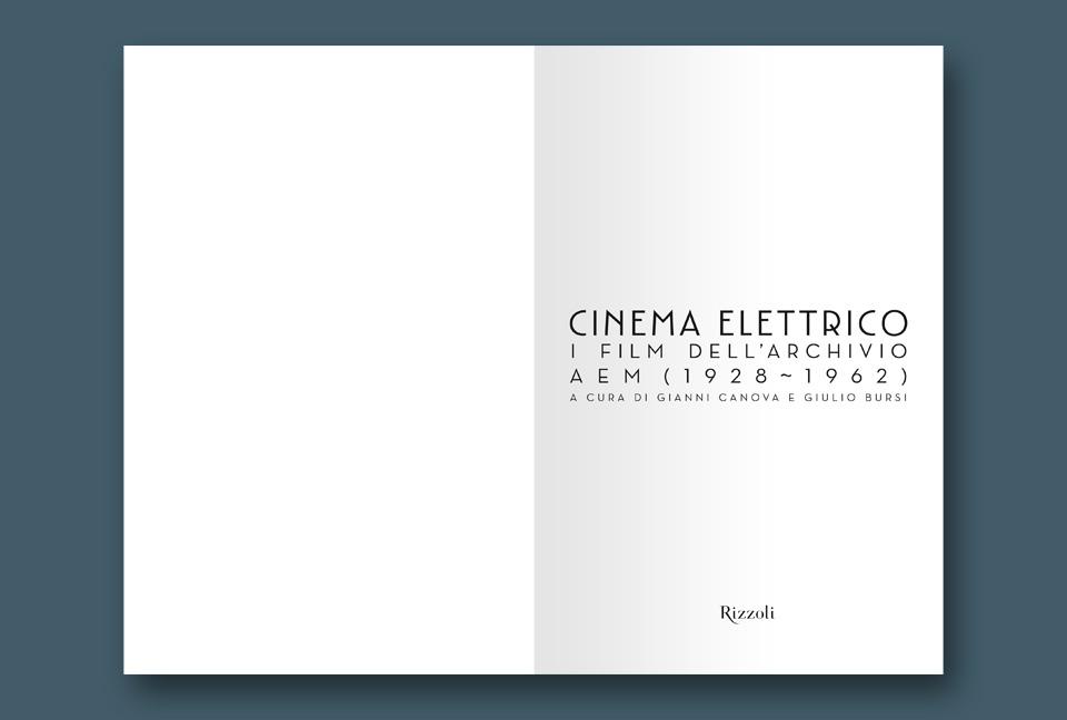 AEM Cinema Elettrico frontespizio